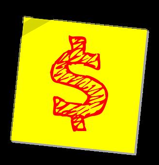 DollarSignPostIt_pixabay